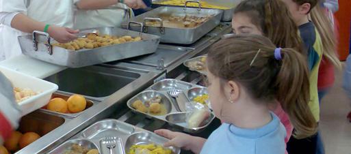 Menús comedor escolar