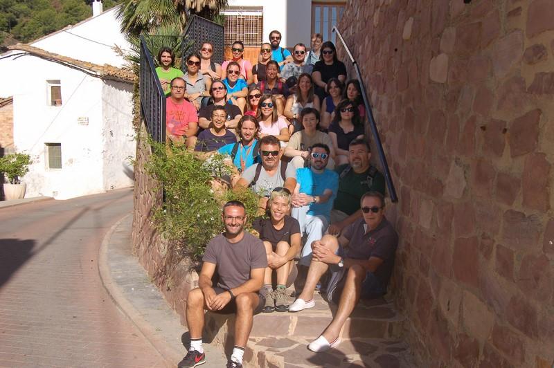 Convivencia profesores en Segart
