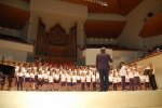 ¡¡¡ Espectacular debut del coro !!!