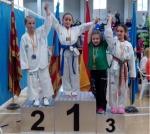 Medalla de oro y bronce en taekwondo Carolina García 5PRIB